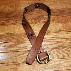 Abercrombie & Fitch leather belt s/m